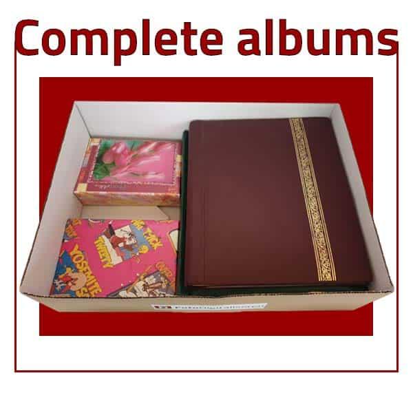 Album pakket boven aanzicht