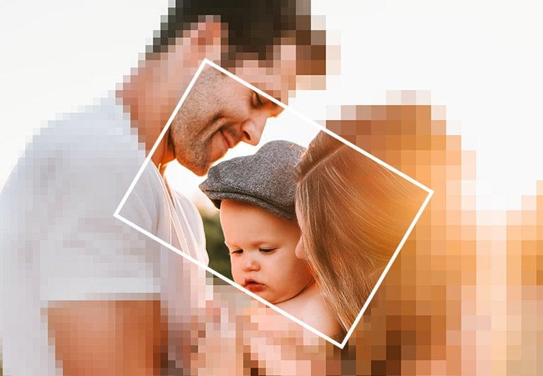folder jong gezin zons ondergang